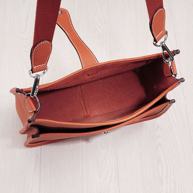 2017 Genuine Leather Women Bucket Messenger Bag Cow Real Leather Shoulder Bags for Ladies Handbag Bolsa Feminina Small Purse