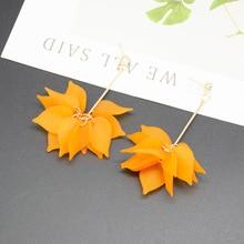 10 New lotus flower earrings lucky plant petals zircon dance party bloom splice rose wedding love jewelry
