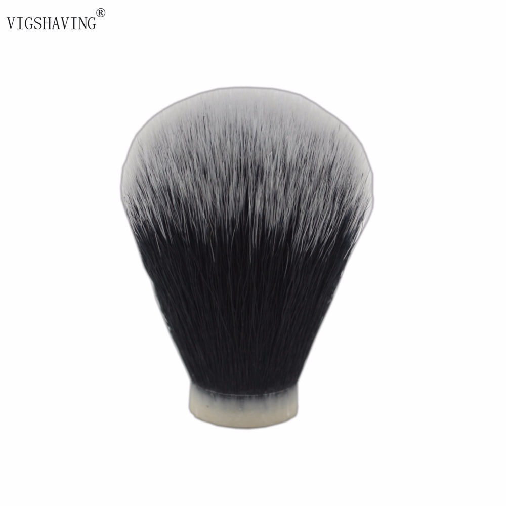 VIGSHAVING 20mm/22mm/24mm   Black Synthetic Hair Shaving Brush Knots