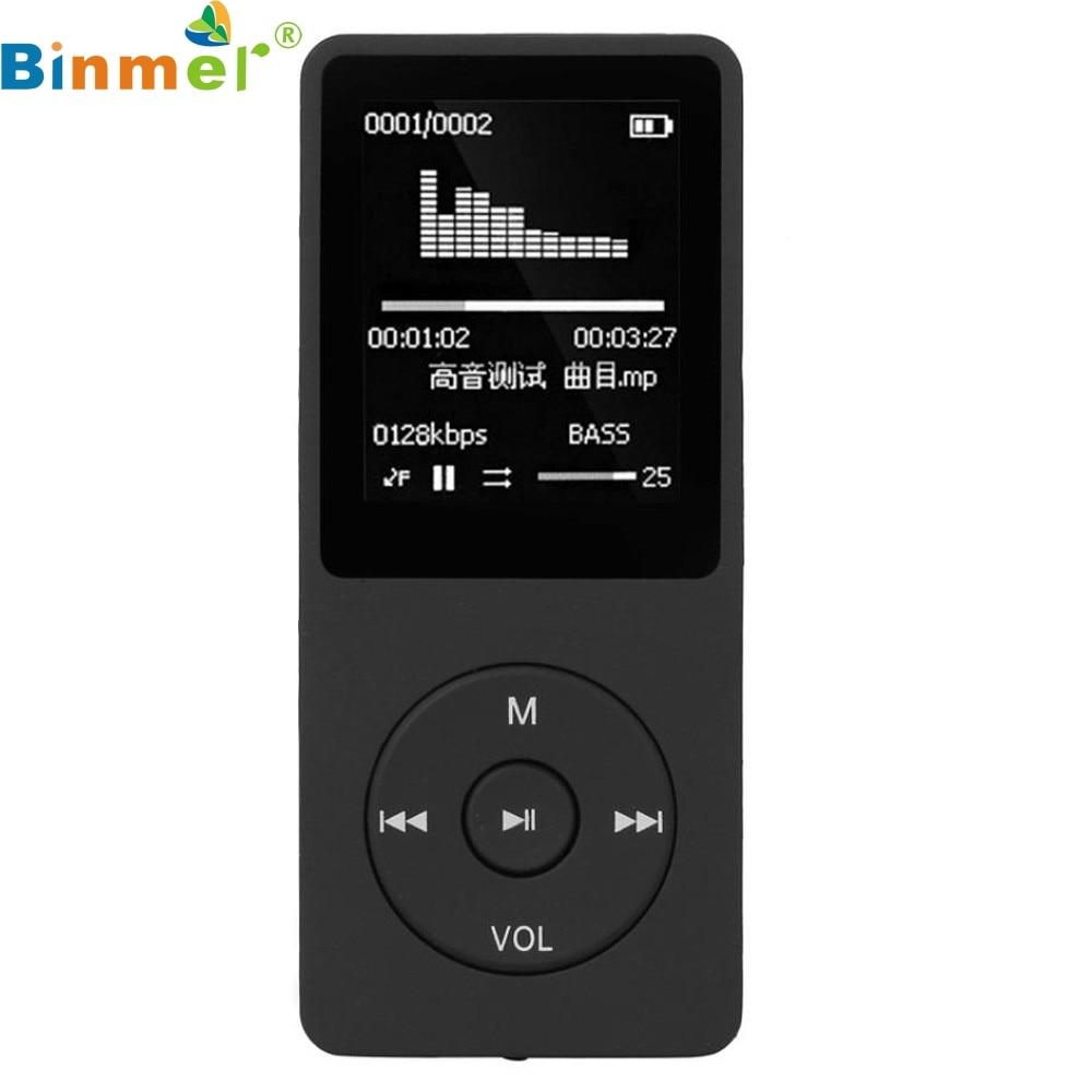 Hot 1 8 TFT Black 16G MP3 HiFi Lossless Sound Music Player FM Recorder TF Card