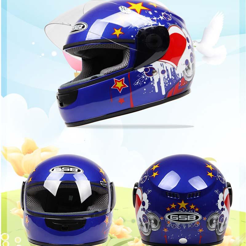 Children/'s Motor Helmet Safety Warm Motorbike Motorcycle Helmet full face comfortable casque casco for 3-9 years old kid