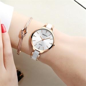 Image 5 - 2020 NIBOSI Uhr Luxus Frauen Uhr Damen Kreative frauen Keramik Armband Uhren Weiblichen Uhr Montre Femme Relogio Feminino