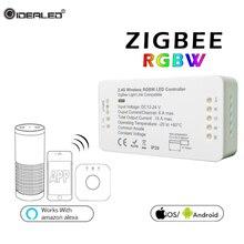 ZLL RGBW Led Tape Controller DC12V/24V Strip ZIGBEE Smart Home APP Control DC12V-24V Srtip Lights