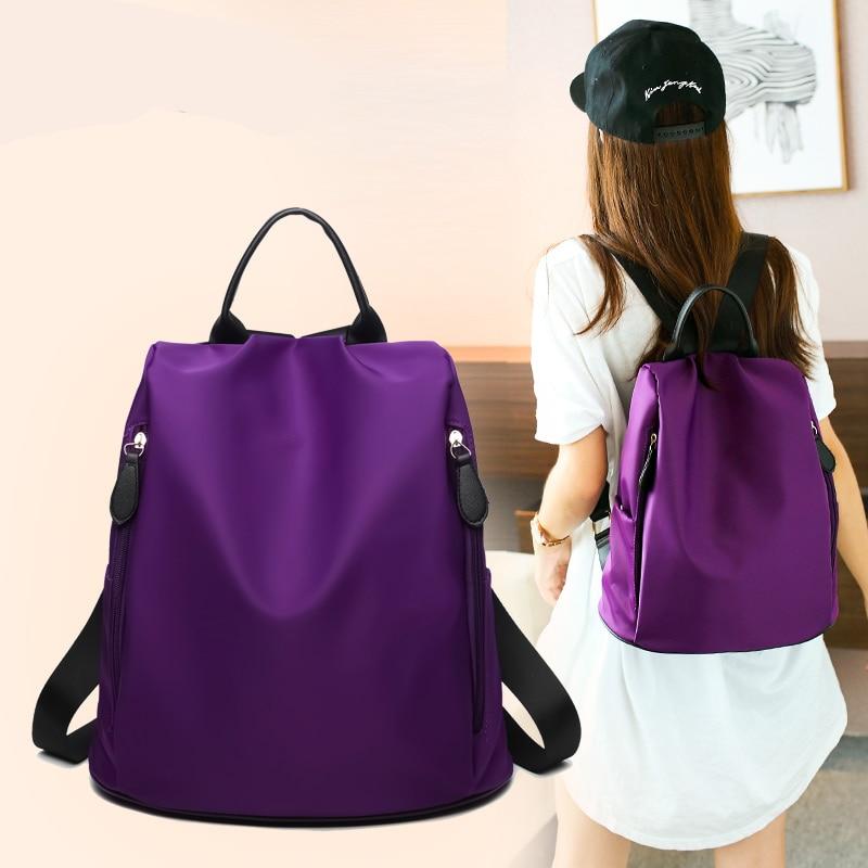 2016 New Style Special Women s Backpack Waterproof Travel Backpacks School Bags For Teenage Girls Nylon