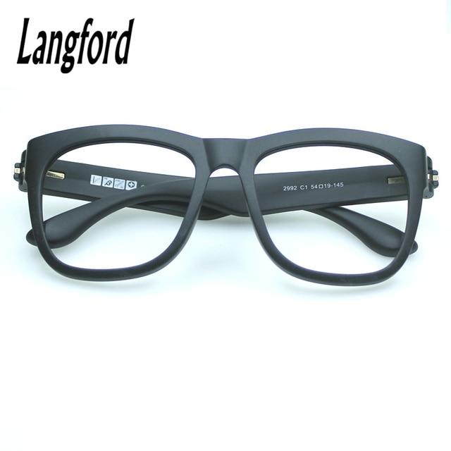 Tr90 grandes marcos de anteojos prescripción óptica Gafas peso ...