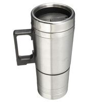 300ml Car Heating Cup Stainless Steel Cup Liner Car Mug With The Electric Kettle Cup Heating