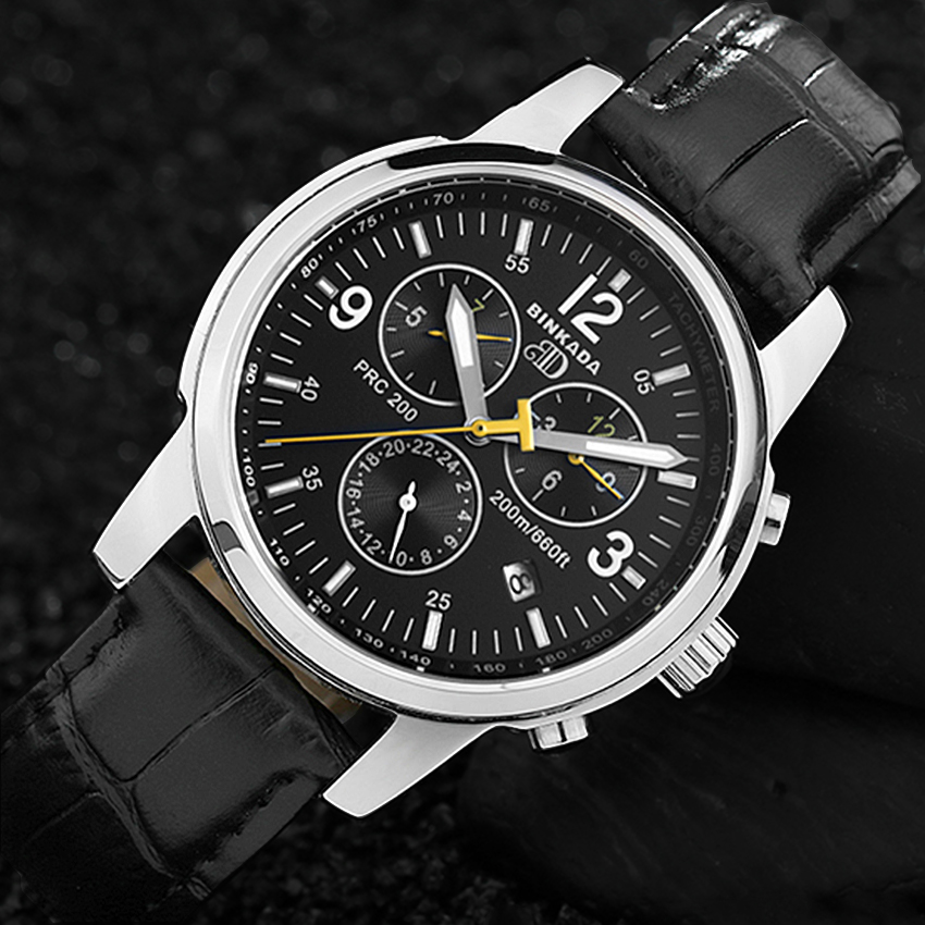 New Mens Function Top Brand Luxury Automatic Mechanical Watch Men Full Steel Business Waterproof Sport Watches