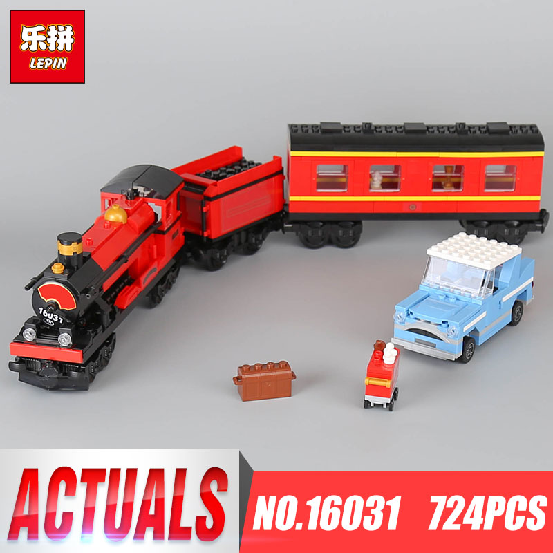 LEPIN 16031 Harry Potter Hogwarts Express Building Blocks Bricks Educational DIY Toys For Children Gift compatible legoing 4841 new lepin 16008 cinderella princess castle city model building block kid educational toys for children gift compatible 71040