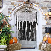 OurWarm 100*60cm Halloween Party Decoration Horror Ghost Hanging Haunted House Pendant Props
