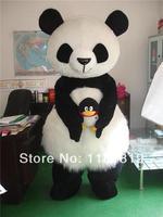 mascot PANDA BEAR Mascot costume hot sale Adult size cartoon character fancy dress carnival costume outfit suit MC60176