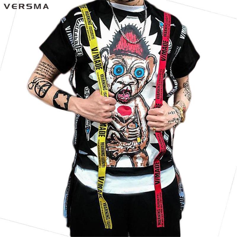 Aliexpress.com : Buy VERSMA 2017 Japanese Harajuku GD ...
