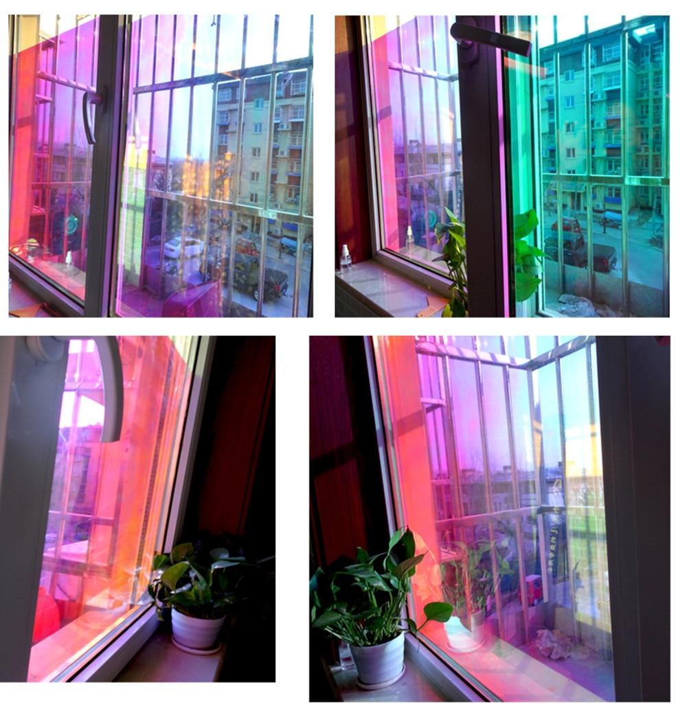 Frohe Weihnachten umweltschutz Haushalt Zimmer Glas Tönung Film Wandbild Decor Aufkleber Abnehmbare fenster aufkleber weihnachten - 5