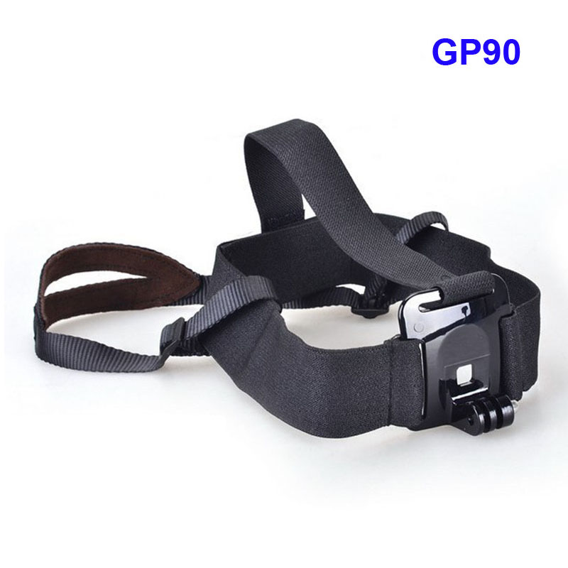 Adjustable Light Weight Head Stap Mount Belt for GoPro Hero 4 3+ 2 1 SJCAM SJ4000 SJ5000 SJ6000 For Xiaomi Yi 4 K Action Camera