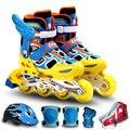 Ms 835 com segurança capacete de patins crianças e de tamanho ajustável