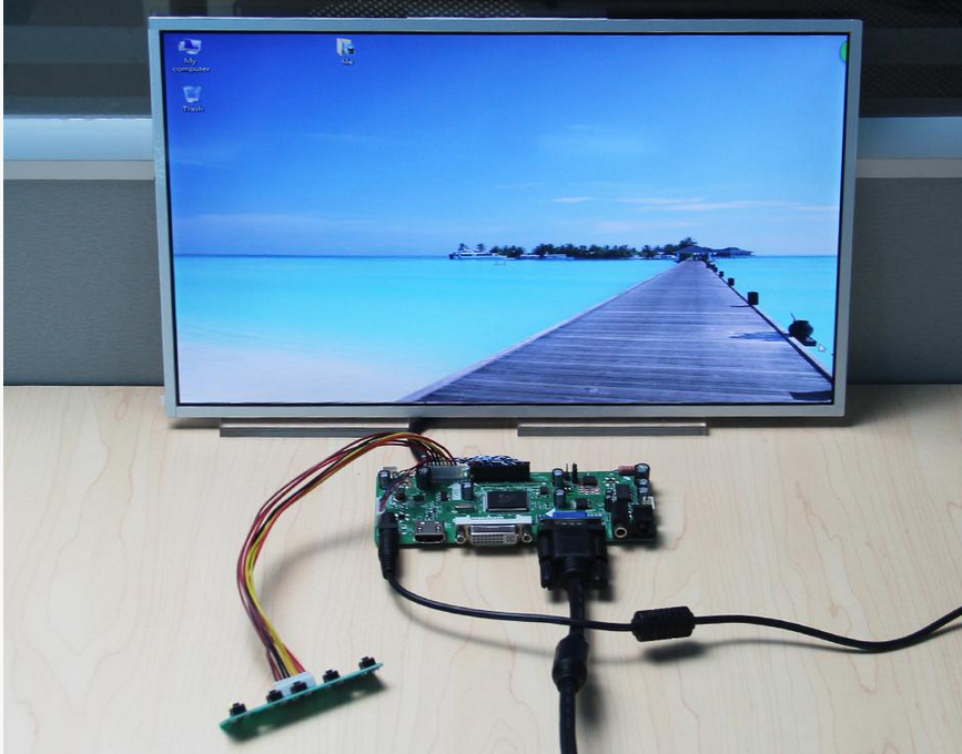 VGA LCD LED LVDS Controller Board Driver kit for N116BGE-L42 HDMI DVI