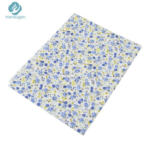 Online Shop 7pcs Blue 100% Cotton Fabric for Sewing DIY Quilting ...