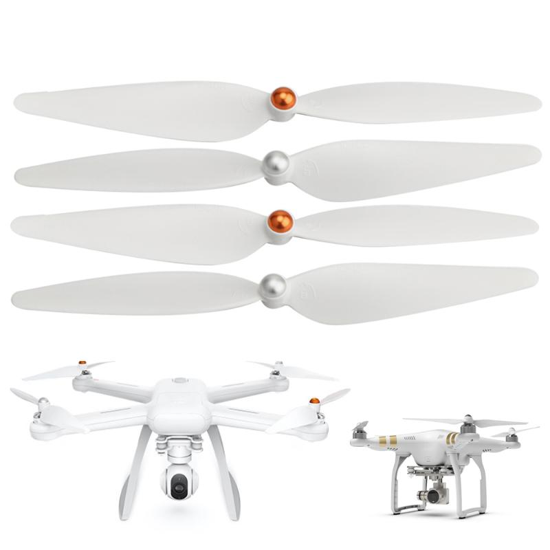 2 Pairs FPV Drone RC Quadcopter Propeller for XIAOMI Mi 1080P Version Self locking White RC