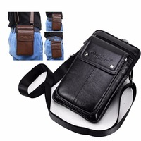 Genuine Leather Carry Belt Clip Pouch Waist Purse Case Cover for Aoson S7+ 7 inch Tablets Android Tablet PC Phone bag Bags