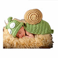 Newborn baby Handmade snails Costume Set Knitted Hats and Pants  Photography Props Photo Shoot for 0-3 month