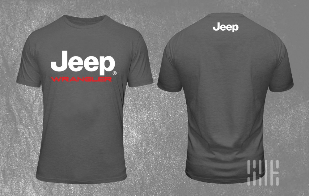 NEW Latest   T  -  Shirt   Logo Jeep Adventure 4 Wheel Drive Off Road Vehicle 2019 Newest Men'S Funny Streetwear Tees   T     Shirts
