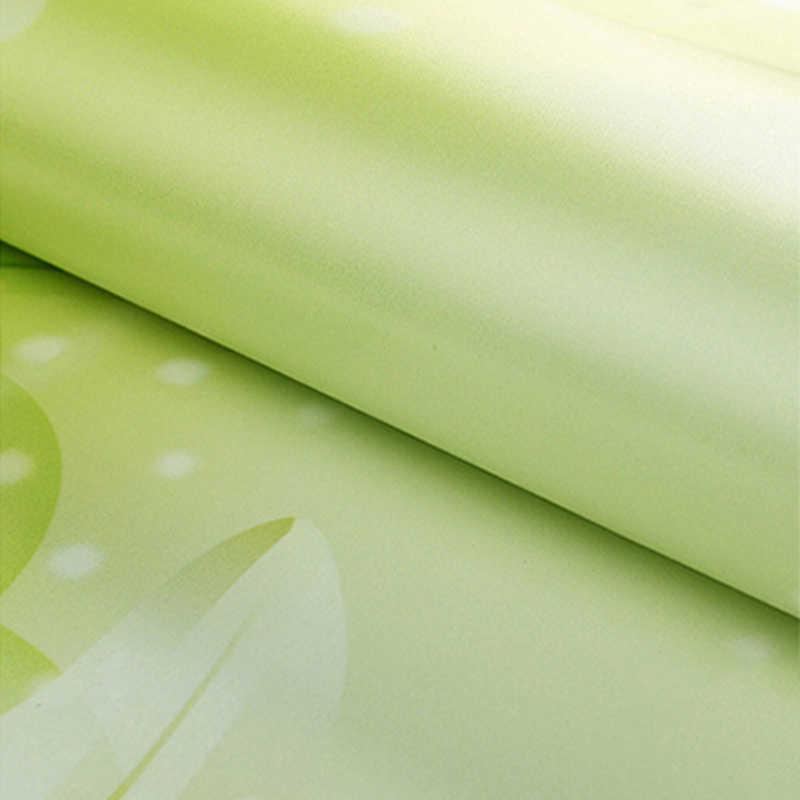 מודרני 3D ציורי קיר טפט ירוק צמח עלים תמונה קיר סלון בד חדר שינה עמיד למים ידידותי לסביבה Papel דה פארדה 3 D