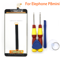 New Original For Elephone P8 Mini Touch Screen LCD Screen LCD Display Digitizer Assembly With Replacement