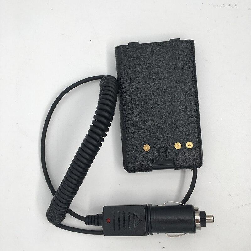 Battery Eliminator CIGARETTE Lighter Car Charger For Yaesu FT-60R FT-60E Vertex VX160 VX418 VX177 VX170 VX400 VX420 VX120 VXA300