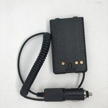 البطارية المزيل ولاعة السجائر شاحن سيارة ل Yaesu FT 60R FT 60E فيرتكس VX160 VX418 VX177 VX170 VX400 VX420 VX120 VXA300