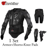 Motorcycle Riding Body Armor Protection Jacket Motorcross Off Road Racing Protector Hip Pads Shorts Knee Pad