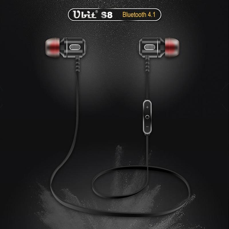Ubit S8 Spor Kulak Kablosuz Kulaklık Anti-ter Metal Kulaklık - Taşınabilir Ses ve Görüntü - Fotoğraf 4