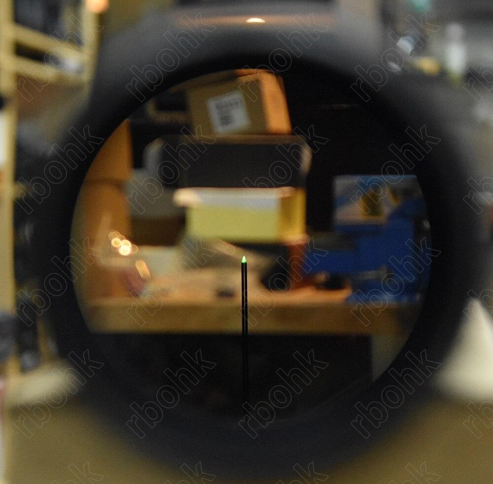 Grünen Optik faser 1,5 6x24 zielfernrohr für 1,25 zoll rohr jagd schießen M7656 - 2