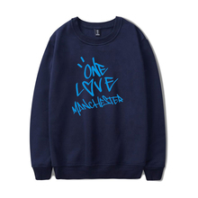 New ONE LOVE MANCHESTER fashion hip hop Men Women Hoodies capless Sweatshirts Long Sleeve o neck Hoodie Sweatshirt Pullover Tops