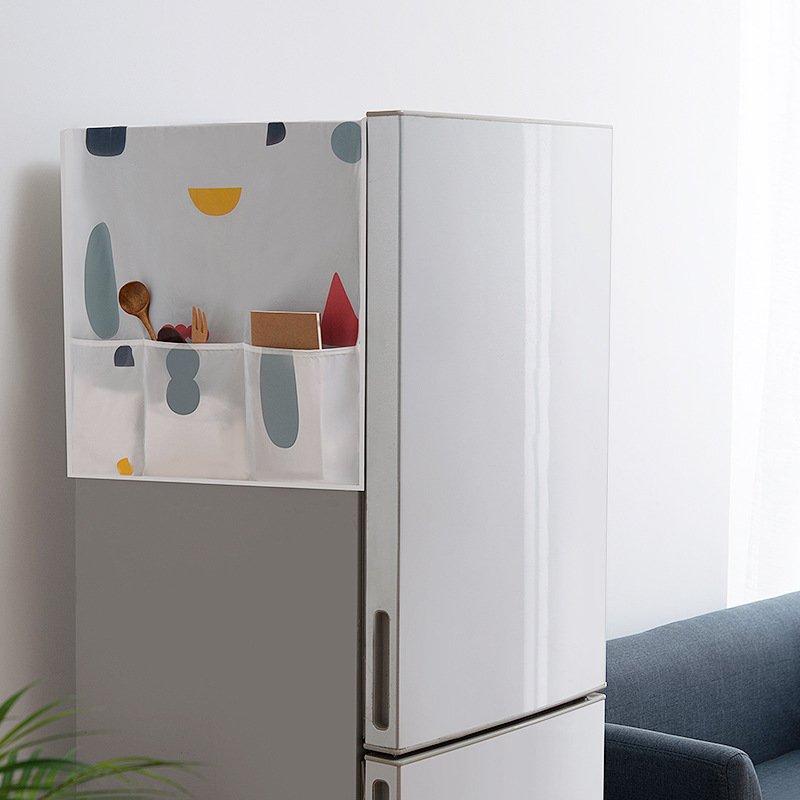 Купить геометрический пылезащитный чехол для холодильника водонепроницаемый