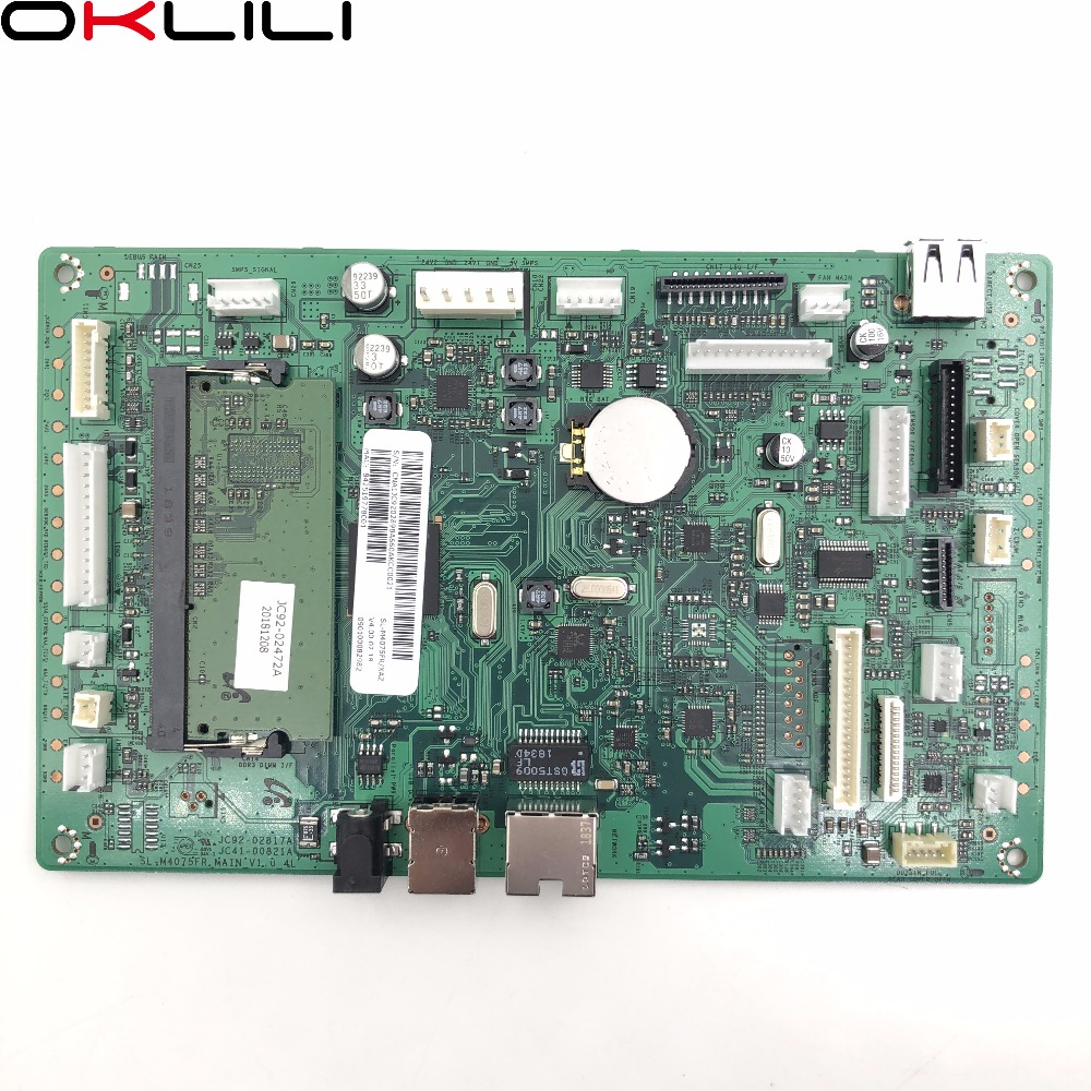 JC92-02832C JC41-00821A PBA Main Formatter Board Logic MainBoard Mother Board For Samsung SL M3375 M4020 M4024 M4025 M4070 M4075