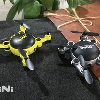 KY901 2.4GHz RC Quadcopter 3D Flip 4CH Foldable Mini Drone Altitude Hold Headless Mode RC Drone with 0.3MP Wifi Camera Model Toy