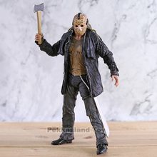 2009 Deluxe Edition NECA Figure Friday the 13th Jason Voorhees Action Figure PVC Horror Collectibles Model Toy