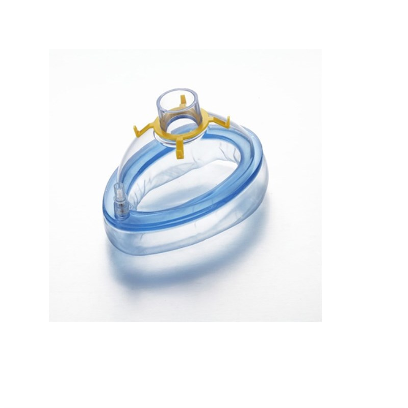 1#-6# 5 Pcs One-Time Use Inflatable Anesthesia Mask For Adult Infant Pediatric Anesthesia