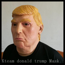 Free Shipping!!! Famous People Donald Trump Mask Latex Realistic Mask USA Property Tycoon Donald Trump Face Head Mask in stock