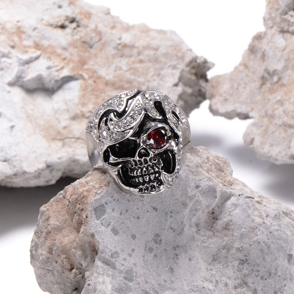 HTB13tyBKXXXXXXFXpXXq6xXFXXXb - Skull Shaped Pirate Inspired Ring with Crystals