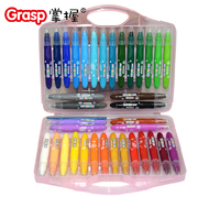 Children Art Student Safety And Environmental Stationery Pastel Painting 36 Color Crayon Can Be Washed And