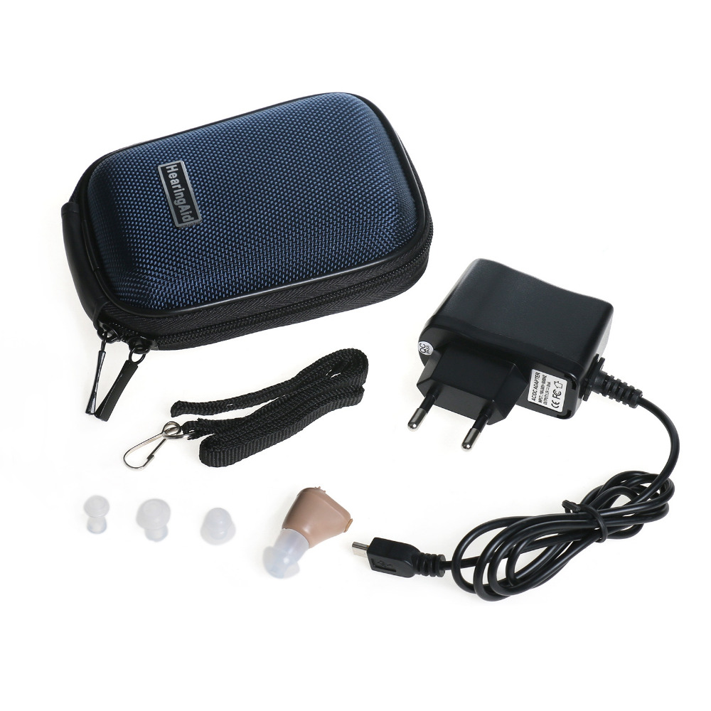 Small and Convenient Axon K 88 Rechargeable Digital In Ear Hearing Aid Adjustable Sound Amplifier Mini