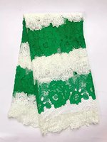 2017 Latest Top Swiss Cord Lace African Guipure French Lace Fabric African Lace Fabrics High Quality