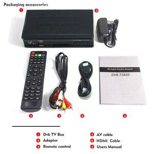 Image 5 - Vmade DVB T2 & DVB S2 Combo satellit dvb T2 S2 x1 volle HD 1080P Decoder unterstützung Dolby AC3 H.264/MPEG 4 mit USB wifi