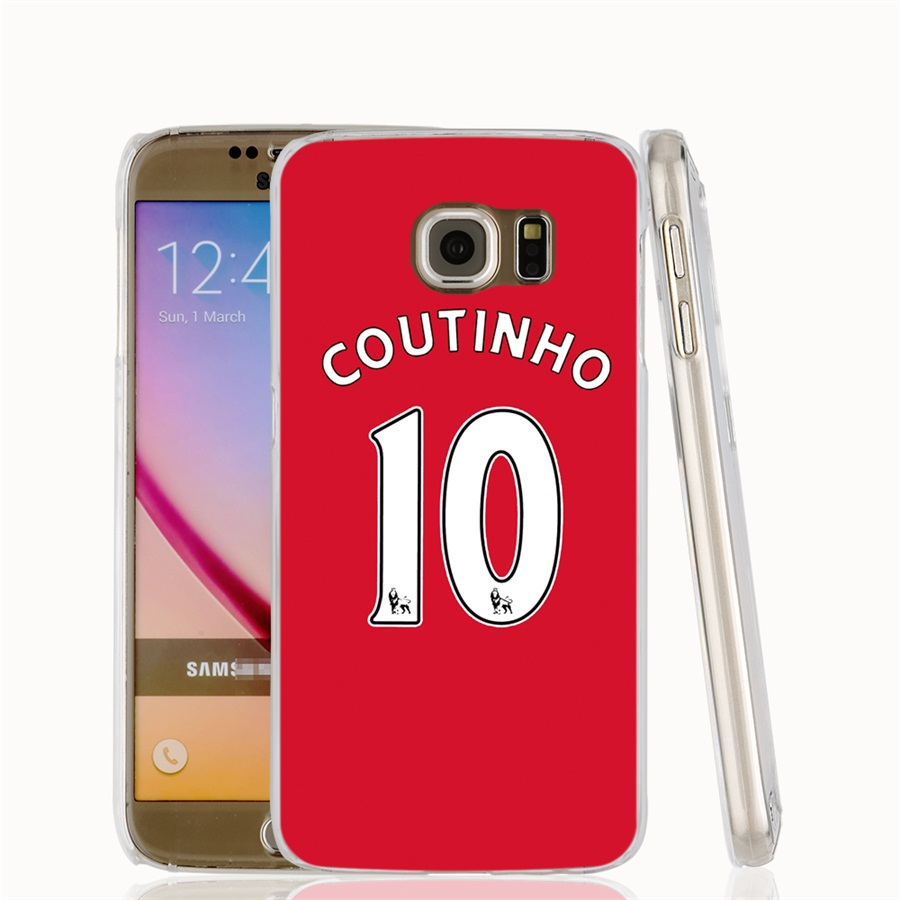 00671 coutinho 10 cell phone case cover for samsung galaxy s7 edge plus s6 s5 s4 s3 мини
