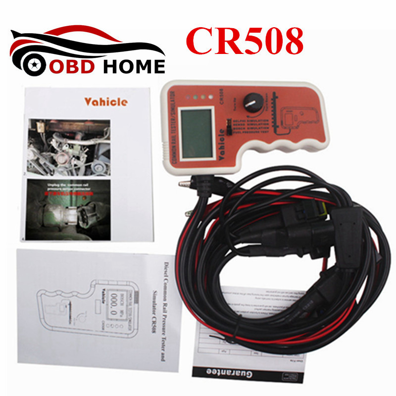 High Quality CR508 Common Rail Pressure Tester and Simulator By Rail Pressure Tester Diesel Engine Promotion Price cr508 diesel common rail pressure tester and simulator for bosch delphi denso sensor test tool diagnostic tools high pressure