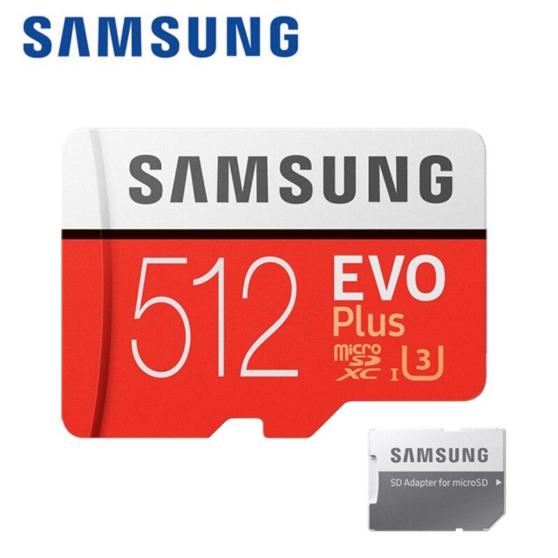 SAMSUNG High Speed Class10 Memory Card 512GB Tarjeta Micro Sd 128G 256G Micro Card Sd EVOPLUS Cartao De Memoia 64GB Microsd Car