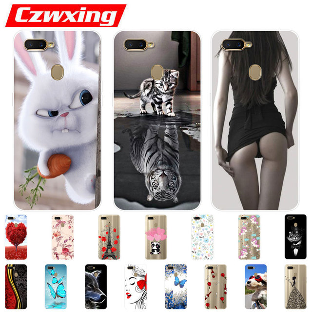 OPPO AX7 Case OPPO A7 Case Silicone TPU Cover Cute Phone Case On For OPPO AX7 AX 7 CPH1903 CPH 1903 OPPOA7 OPPOAX7 Case Soft