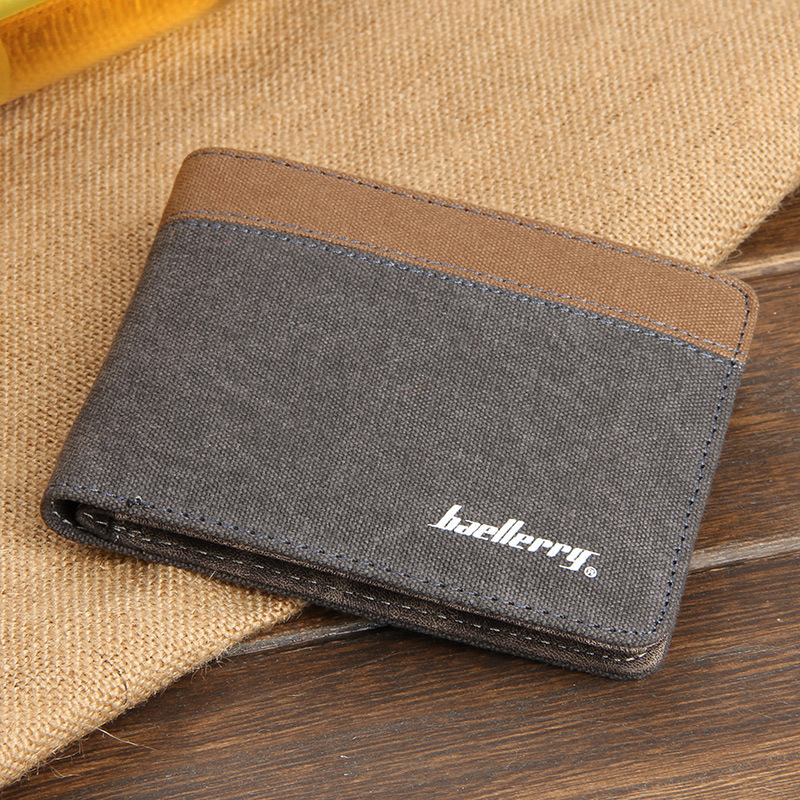 MIWIND Short Wallets Brand Slim Purse Men Purses Male Clamp walet Small Coin Card Money Clip Portomonee carteras TBL551