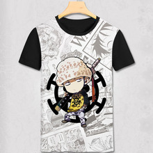 Adorable One Piece Cartoon T-Shirt