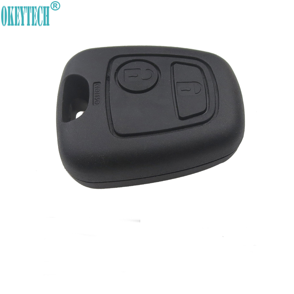 2 Saab Smart Remote Key Keyless Fob Replacement Case Shell Button Repair Pad